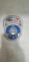 NUBY NATURAL TOUCH SOFTEES TEETHER W/ CASE-  TEETH-6M+  Blue - $7.99