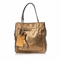 Pre-Loved Chloe Brown Bronze Others Leather Eden Tote Bag France - $377.74