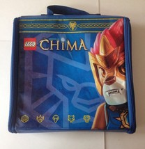 LEGO Chima Battle Carry Case Storage Tote & Colorful Play Mat w/ Carryin... - $6.79