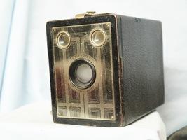 Kodak Six 20 Brownie Junior Vintage Box  Camera ART DECO  - Nice - - $20.00