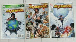 The World of Flashpoint #1-3 Complete Set (2011, DC) - C5013 - $6.99