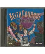 ORIGINAL Vintage 1989 Turbo Grafx Keith Courage in Alpha Zones w/ manual - $39.59