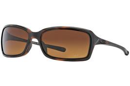 Oakley Dispute POLARIZED Sunglasses OO9233-06 Brown Tortoise Frame W/ Br... - $79.19