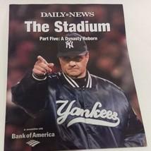 Joe Torre New York Yankees Daily News Magazine Part # 5 The Stadium  - $9.90