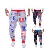 Men's Fashion Hip-hop United States National Flag USA Letter Design Men'... - $28.56