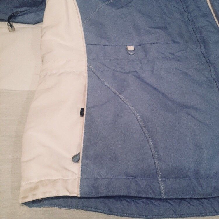 Gerry Women's Parka Size Large Blue Snap Off Insulated Hood