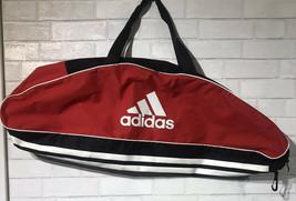 Black & Red Adidas Baseball Bat Equipment Duffle Bag - $16.06