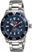 Seiko Men's Prospex Watch Solar Diver PADI-Edition Stainless Steel 44mm - $405.00