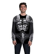 Faux Real Kiss The Demon Heavy Metal Music Long Sleeve Costume T Shirt F... - $31.99