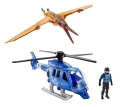 JURASSIC WORLD DESTRUCT-A-SAURS Pteranodon Copter Attack Set - $98.99
