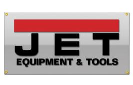 Jet Tools Equipment Vinyl Banner 2'x4' Garage or trade shows Ready Hang 13 OZ. image 2
