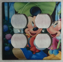 Mickey Minnie Mouse Light Switch Power Outlet wall Cover Plate & more Home decor image 14