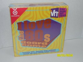 I Love the 80's Family Party Board Game VH1 Sing Draw Act Trivia Viacom ... - $33.90