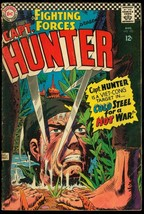 OUR FIGHTING FORCES #102-CAPT. HUNTER-JOE KUBERT ART G/VG - $17.38