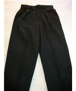 WOMEN LADIES COUNTERPARTS BLACK DRESS PANTS SIZE 14 NWT - $10.99
