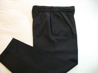 WOMEN LADIES COUNTERPARTS BLACK DRESS PANTS SIZE 14 NWT