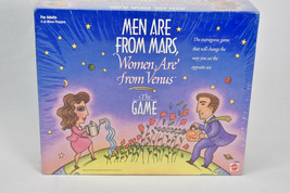 Men Are From Mars Women Are From Venus Vintage Board Game Adult Mattel NEW  - $32.62