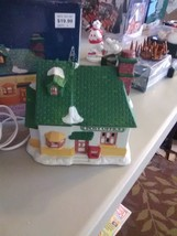 """Dickens Collectable Lighted  Porcelain Christmas Village """"Post Office"""" - $9.15"""
