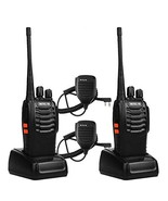 Retevis H-777 Walkie Talkies UHF Radio 16CH Single Band Flashlight 2 Way... - $49.62