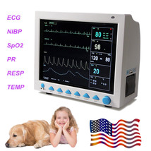 US FedEx,CONTEC CMS8000 Veterinary Vital Signs Patient Monitor, Animal /... - $494.01