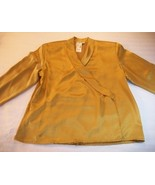 WOMEN J.G.HOOK GOLD DRESS CAREER SHIRT SZ 8 10 12 NWT - $11.50