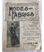 Modes And Fabrics June 1895 - $14.03