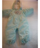 BABY BRIGHT FUTURE WINTER SNOW SUIT 18 MTH MINT GREEN - $25.00