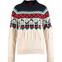 HILFIGER COLLECTION Fringed  Wool & Cashmere Blend Jumper Size X-Large BNWT - £104.13 GBP