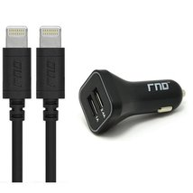 RND Apple Certified Lightning to USB Cables (1.5 feet/ 2-pack) and Dual ... - $33.99