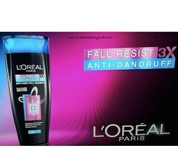 L'Oreal Paris Fall Resist Anti-Dandruff Shampoo (Choose Variation) - $6.92+