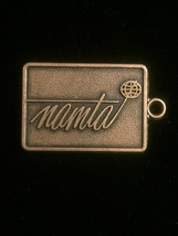 Vintage 70s NAMTA Brass Keychain Tag