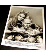 1997 BATMAN & ROBIN Movie Press Photo UMA THURMAN Arnold Schwarzenegger ... - $9.95
