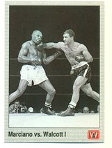 1991 AW Boxing Jersey Rocky Marciano vs. Joe Walcott #145 - Boxing Card - $4.70