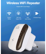 Wireless Wi-Fi Repeater Extender 300Mbps Amplifier 802.11n Booster Long ... - $20.70