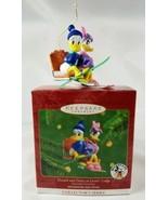 Hallmark Keepsake Ornament Mickey & Co Disney Donald & Daisy at Lover's ... - $14.80