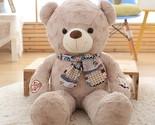 Dy bear hair bear boy scarf bear hair toy bear super large bear doll birthday girl thumb155 crop
