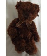 Russ Berrie Bear Beresford Bears From the Past Shaggy Brown Fur Not Join... - $33.85