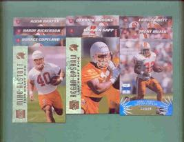 1996 Stadium Club Tampa Bay Buccaneers Football Set - $2.99