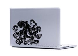Giant Octopus Vinyl Laptop Art - $6.95