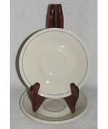 3 Corelle Saucers Retired Needlepoint Pattern  - $4.00