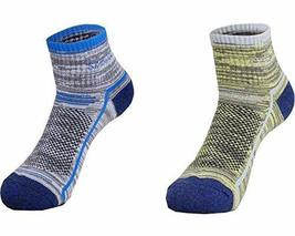 PANDA SUPERSTORE Set of 2 Colorful Quick-Dry Ankle Socks Outdoor Sports ... - £21.61 GBP