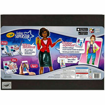 Crayola Fashion Super Star Build Your Virtual Closet Set Design Scan Style w App image 5