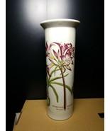 "PORTMEIRION Botanic Garden 9"" Serif Vase  Mexican Lily  Factory 2nd - $18.69"