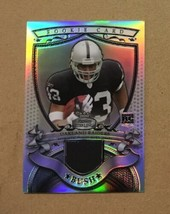 2007 Bowman Sterling Michael Bush Rookie Relics Jersey Patch Refractor #... - $9.50