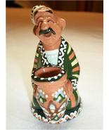 SOUVENIR UZBEKISTAN TOOTHPICK HOLDER NEW NWT NATIVE MAN - $10.50