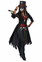 California Costume Voodoo Magic Charms Adult Womens Halloween Costume 01432 - $62.01