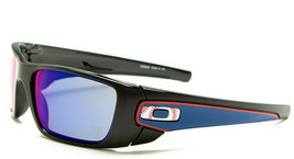 Oakley Sonnenbrille Kraftstoff Zelle MLB Sammeln Poliert Schwarz W Rot Iridium - $131.33