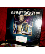 New! 'DAY THE EARTH STOOD STILL' -Ltd Autographed Edition Laser Disc Box... - $123.70