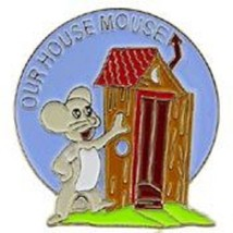 Usaf Our House Mouse Nose Art Pin - $5.93