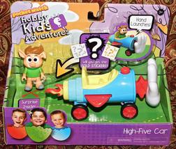 Pocket Watch Hobby Kids Adventures HIGH FIVE CAR Figure Set + surprise S... - $13.99